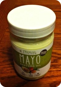 Paleo/primal mayo from Primal Kitchen